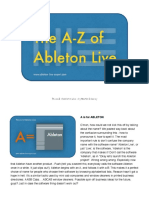 The a-Z of Ableton Live - Martin Delaney