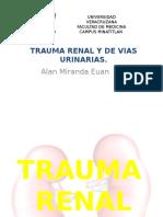 Trauma Renal y de Vias Urinarias Alan-miranda
