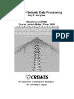 Methods of Seismic Data Processing,