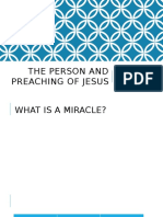 the person and preaching of jesus powerpoint
