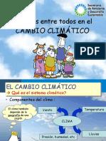 Cambio Climatico presentacion simple y detallada