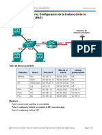 5.2.3.7 Lab - Configuring Port Address Translation (PAT)