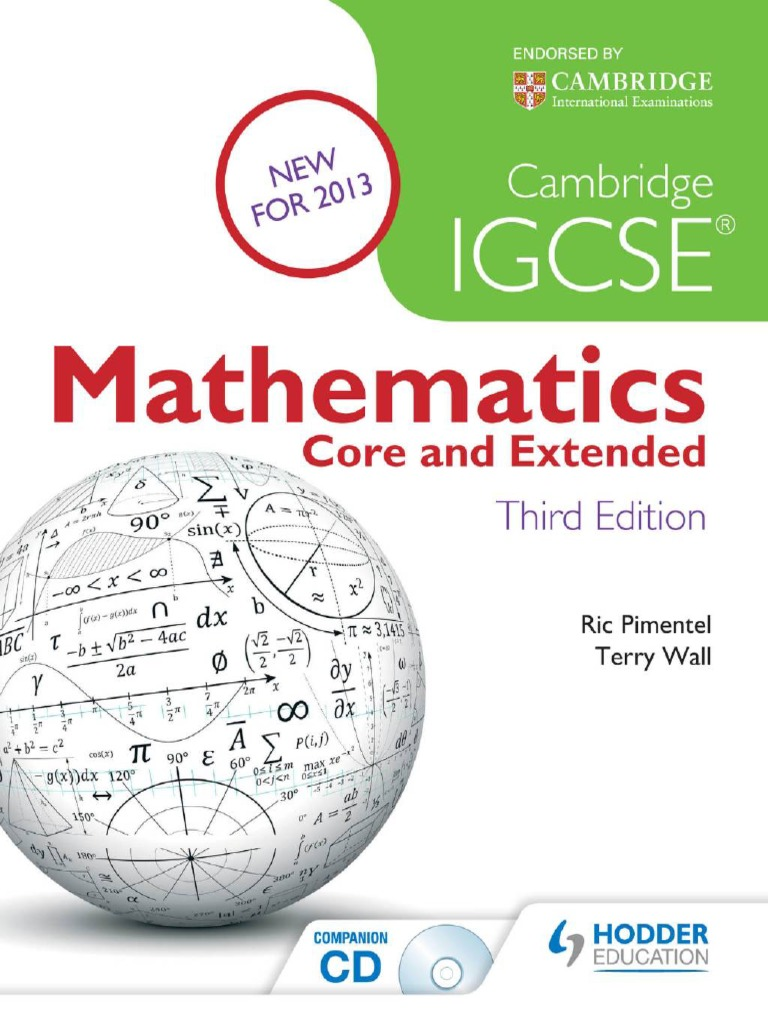 Cambridge igcse mathematics core and extended 3rd fandeluxe Image collections