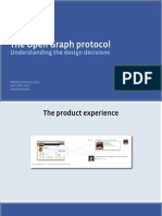 The Open Graph Protocol Design Decisions