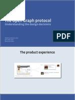 The Open Graph Protocol Design Decisions