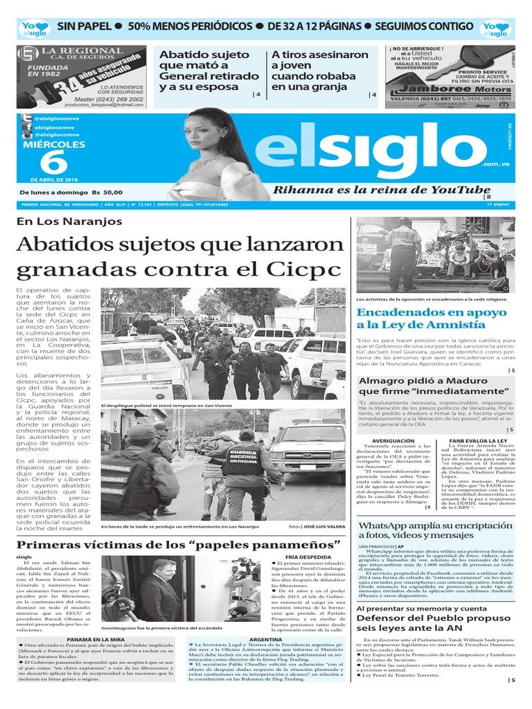 Edicion El Siglo 06-04-2016 013549841f9