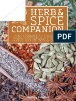Herb - Spice Companion the Complete Guide to Over 100 Herbs - Spices