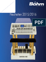 Böhm Neuheintenprospekt 2015-2016