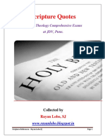 Scripture References – Rayan Lobo,SJ