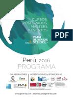 Catalogo Cursos PMM PERU