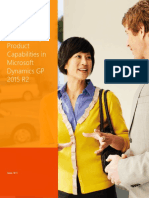 Microsoft Dynamics GP Capabilities Guide 2015_US