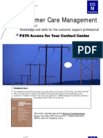 CCM-PSTN Access for Your Contact Center