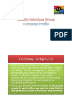 Quality Solutions -Company Profile