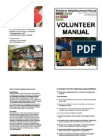 Kitsilano House Volunteer Manual