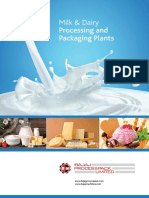 Bajaj Processpack Limited Provides Fresh Flavored Milk Processing Plant
