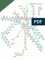 Delhi Metro Route Map