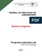 Manual Prácticas de Laboratorio Quimica Organica