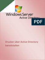 Drucker Mit Active Directory Bereitstellen