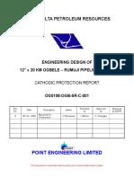 Cathodic Protection Report