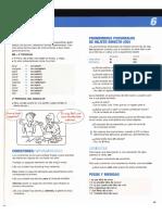 Gramática A2+ / B1, Libro Aula internacional 2 y 3