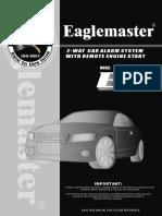 Alarm Eaglemaster E8-LCD(ENG)