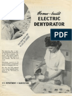 Home-Built Electric Dehydrator