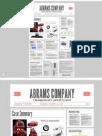 Abrams Company Case Kel 6
