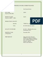 Soilcementblocks Project Report