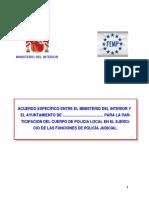 Tema 63. La Policía Local Como P.judicial.