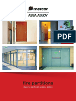 Fire Partitions - Doors, Partition Walls, Gates (1)