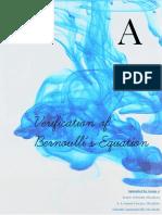 Verification of bernouille's theorem