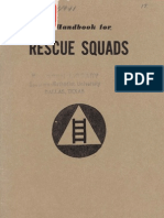A Handbook for Rescue Squads