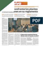 160406 Viva- El Grupo Transfronterizo Plantea Modificaciones en Su Reglamento