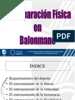 5- Preparacion Fisica Balonmano