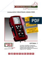MRU Optima 7 Brochures