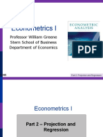 Econometrics Analysis