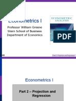 Econometrics Analysis