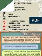 Fisika Batuan_Parameter PetroFisika Batuan