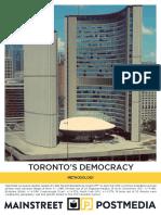 Mainstreet - Toronto's Democracy