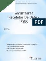 Securizarea Retelelor de Date - IPSEC