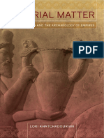Imperial Matter Ancient Persia and the A