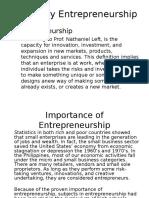 Midwifery Entrepreneurship