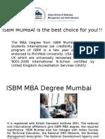 ISBM MUMBAI is the best choice for you!!!!