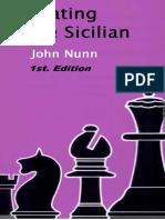 1 John Nunn - Beating the Sicilian