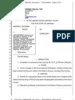 Arizona immigration lawsuit