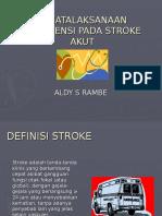 Bimbingan Stroke Coass Minggu IV