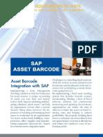 SAP Integrated Asset Barcode