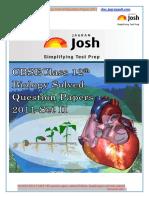 Cbse Class 12th Biology Solved Question Paper 2011 Set-II eBook