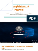hacking windows 10 password 1