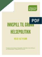Grønn helsepolitikk